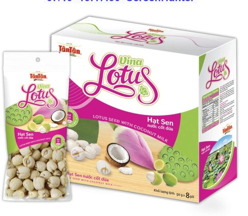 Lotus Seeds With Coconut Milk