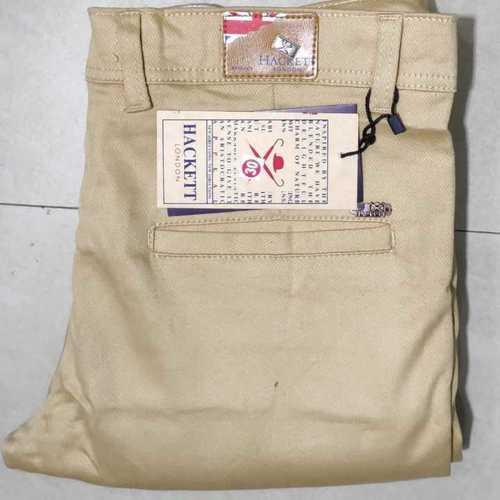 Plain Cotton Formal Trouser