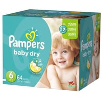 Pampers Baby Dry Diapers Economy Pack