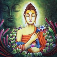 Lord Buddha Canvas Paintings