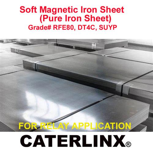 Soft Magnetic Iron Sheet