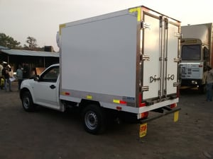GRP Refrigerated Box for Trucks