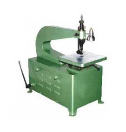 Green Compact Jig Saw Machine