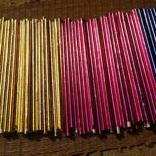Handmade Paper Sticks For Home Decor And Crafts