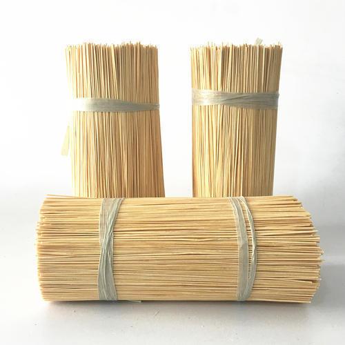 8 Inch, 9 Inch And 12 Inch Raw Bamboo Sticks