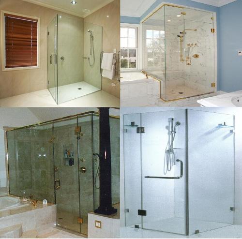 Glass Shower Enclosure Application: Bathrooms