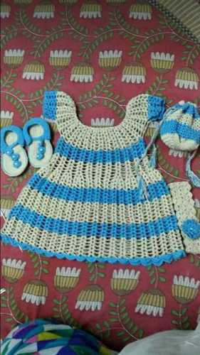 Printed Baby Silk Sweater