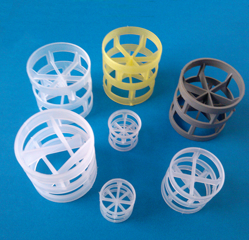 Pvc Ptfe Pvdf Polypropylene Pp Packing Plastic Pall Ring Application: Steam Distillation Equipment
