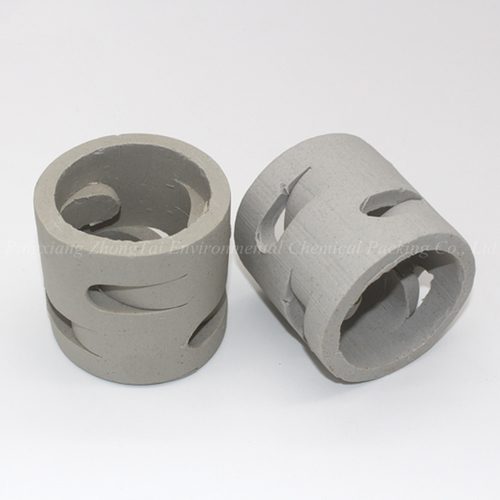 Random Packing 50MM Ceramic Pall Ring