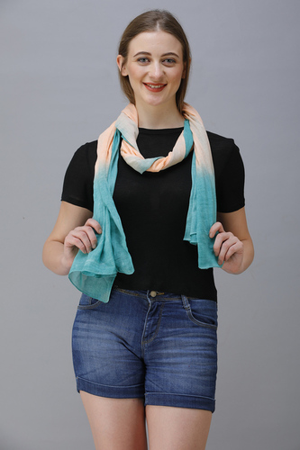 Cotton Voile Dyed Scarves