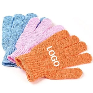 Ease to Use Exfoliating Bath Gloves