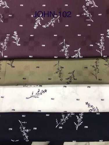 Exclusive Printed Shirting Fabrics