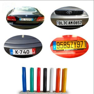 ACL8200 Car License Plate Reflective Sheeting