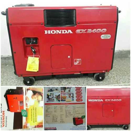 Red Ex-2400 Honda Generator Set