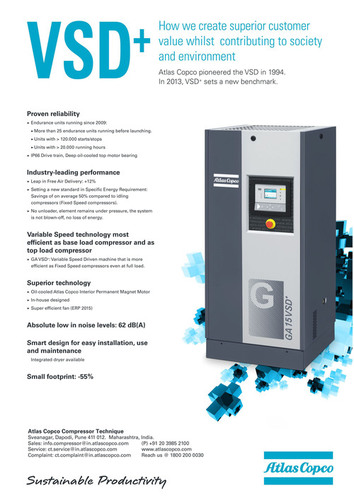Variable Speed Drive (Vsd+)