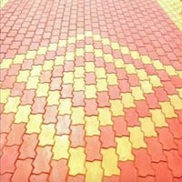 Rubber Moulded Zigzags Brick