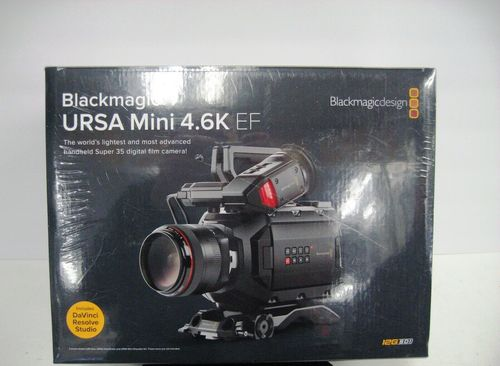 Black Blackmagic Design Ursa Mini 4k Digital Cinema Camera Ef Mount At Price 85000 Inr Unit In Mahad Id 6208252