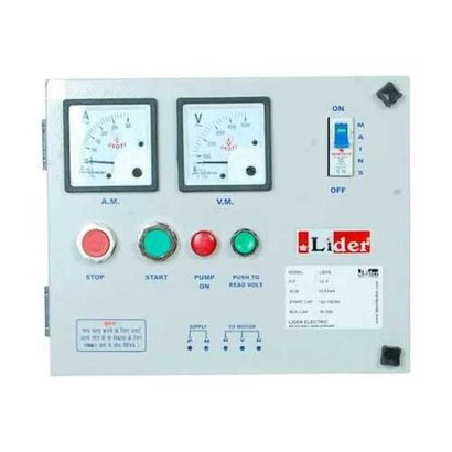 Fully Electrical Control Panel Cover Material: Metal Base