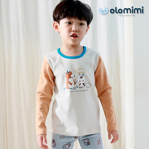(Olomimi) Korea 2019 New Pajamas, Fleece Length: 140  Centimeter (Cm)