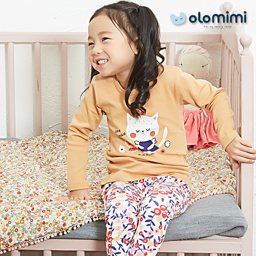 Various (Olomimi) Korea 2019 New Pajamas, Sleepwear, Raspberry