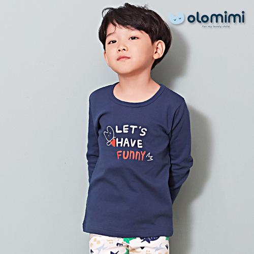Printed (Olomimi) Korea 2019 New Sleepwear Pajamas, Dino-Family