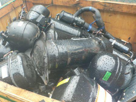 Fridge And AC Compressor Scrap