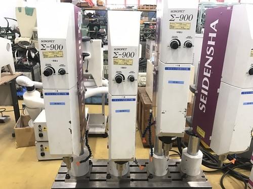 Used Sonopet Sigma Series \\316\\243-900 Ultrasonic Welder