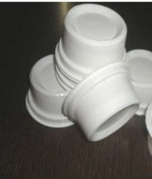 White Disposable Curd Cup