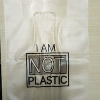 100% Plain Biodegradable Packing Bag