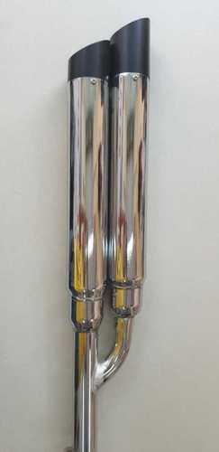 Double Barrel Bullet Silencer