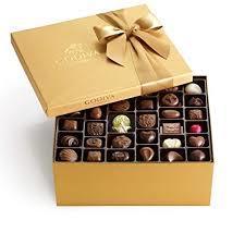 Godiva Chocolate Gift Box With Thank You Ribbon