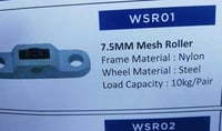 Window Metal Mesh Rollers