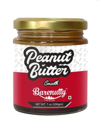 Barenutty Peanut Butter Smooth 200grams