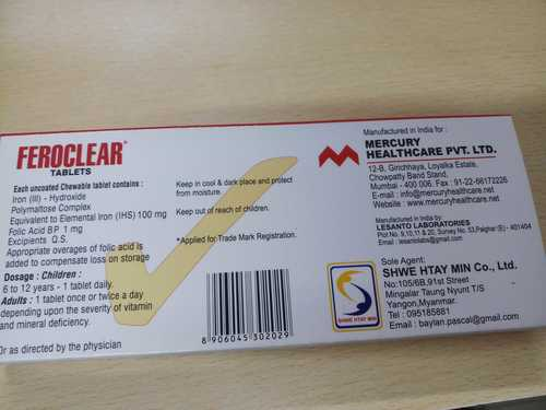 Feroclear Tablets