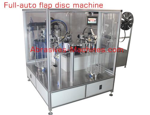 Full Automatic Flap Disc Machine