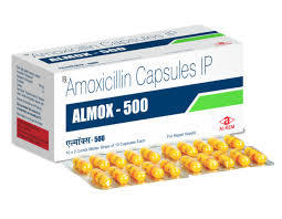 Almox 500mg Capsules (15'S)