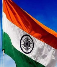 Fully Stitched National Flag
