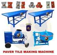 Concrete Paver Tile Machine