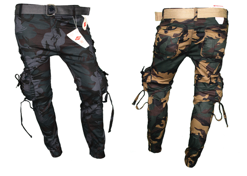 In 5 Colors Men'S Stretchable Army Cargo