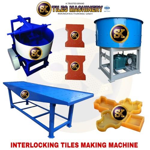 Vibration Brick Making Machine