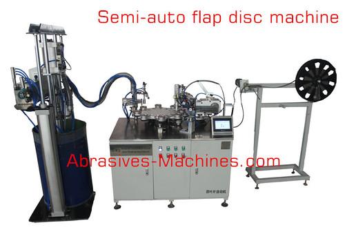 Flap Disc Making Machine