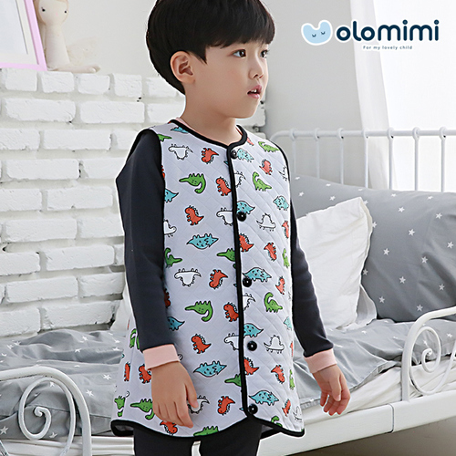 [Olomimi] Korea 2019 New Sleep Vest For Kids Jackson Age Group: 2-12