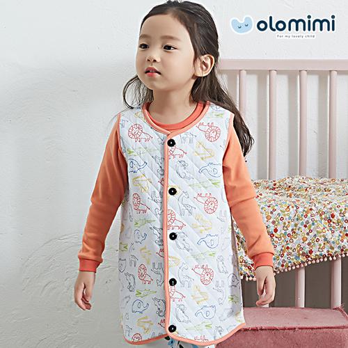 [Olomimi] Korea 2019 New Sleep Vest For Kids Zoo Age Group: 2-12