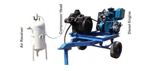 Diesel Engine Compressor 20 Tp