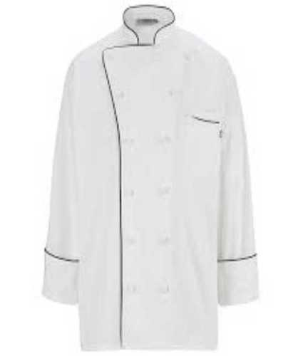 Full Sleeves White Chef Coat