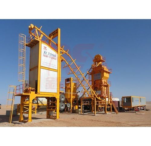 Mobile Type Asphalt Mixing Plant