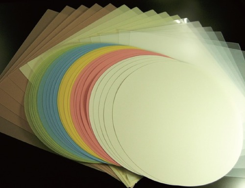 Multi Color Lapping Films Length: As Requested  Meter (m)