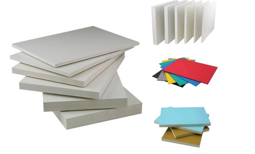 Multi-Color PVC Foam Sheet