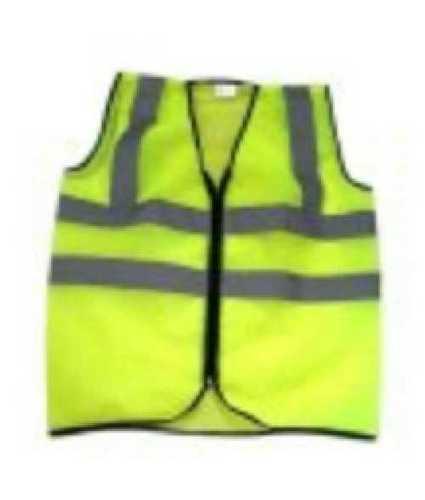 Plain Reflective Safety Jacket