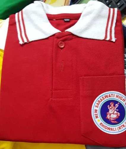 School Uniform T Shirt With Logo